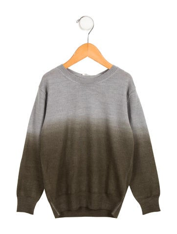 Il Gufo Boys' Ombré Wool Sweater w/ Tags None