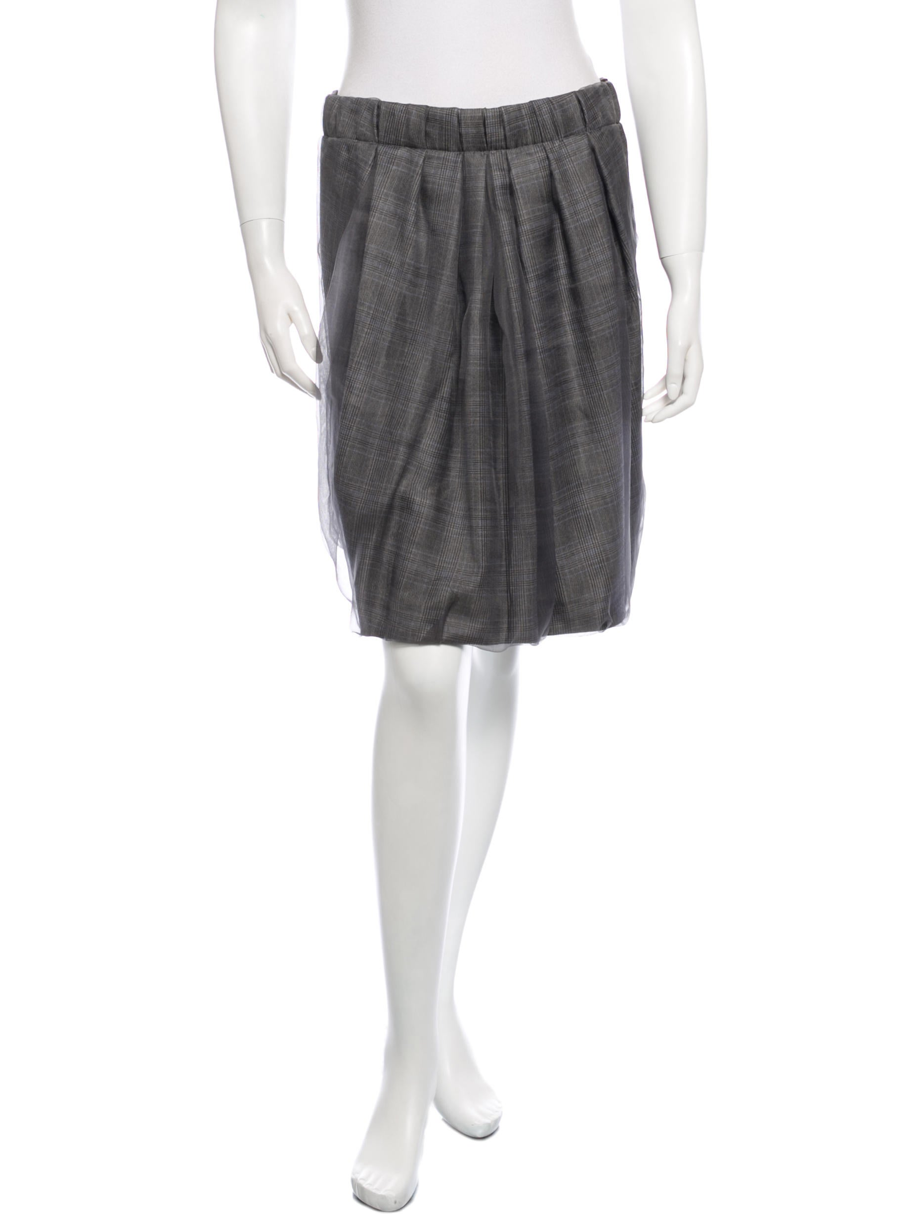 gunex pleated silk mini skirt clothing wgx20040 the