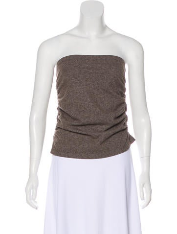 Gunex Wool Strapless Top None