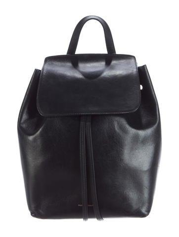 Vegetable Leather Drawstring Backpack