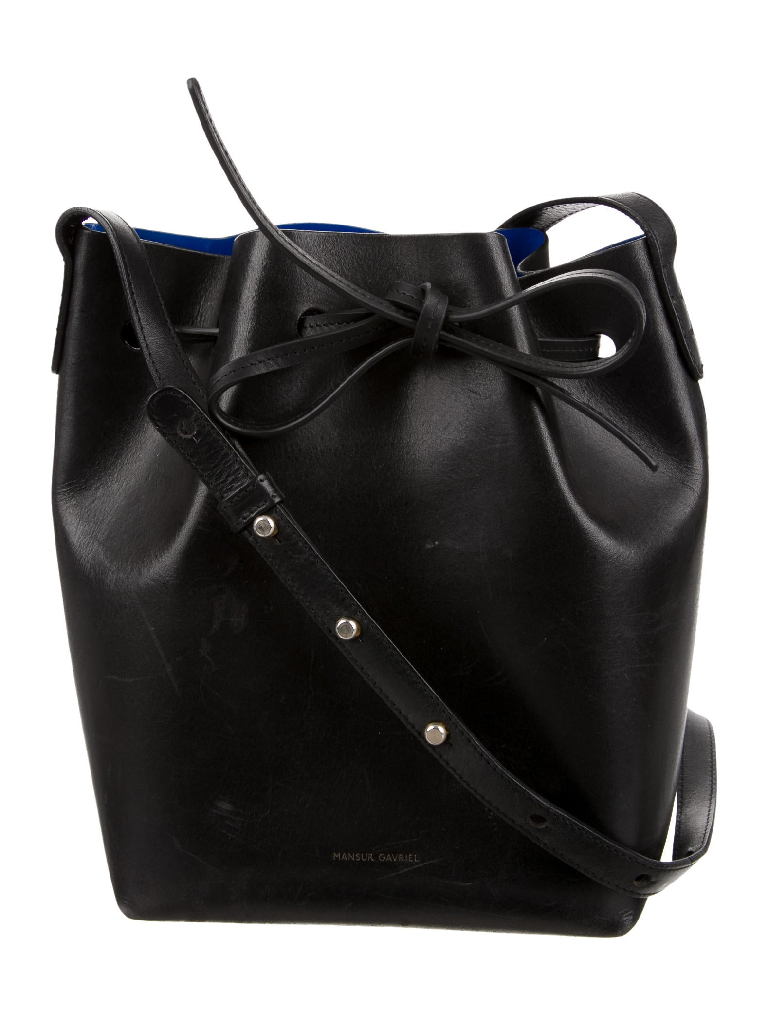 mansur gavriel mini bucket bag handbags wgy21032 the. Black Bedroom Furniture Sets. Home Design Ideas