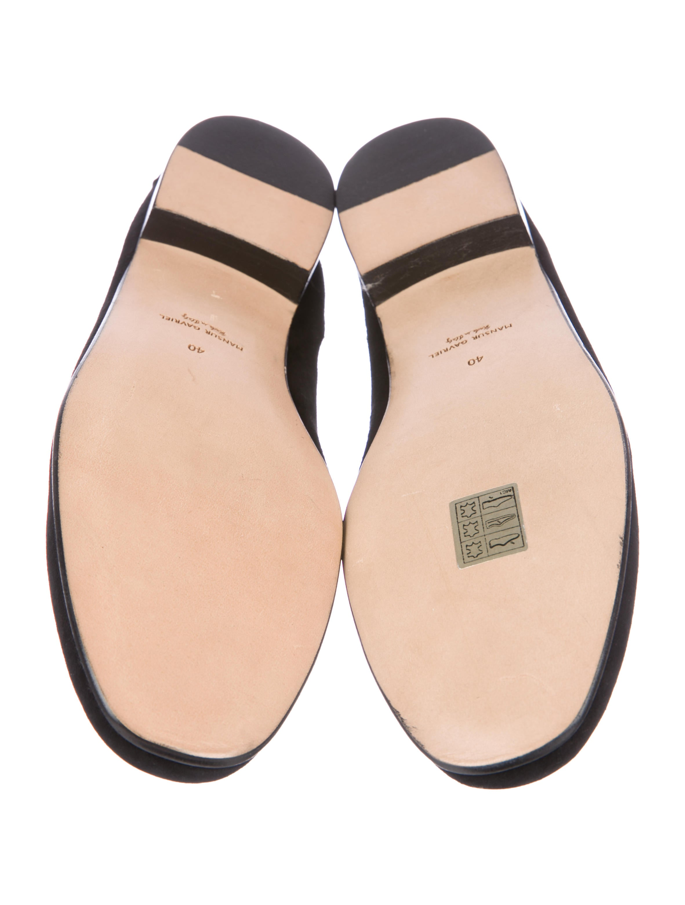 Mansur Gavriel Suede Round-Toe Loafers w/ Tags free shipping view professional for sale new styles cheap online FlgkIhN2W