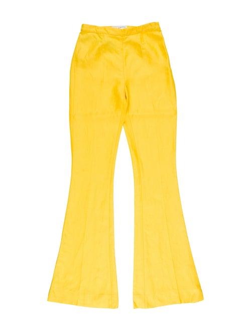 Mansur Gavriel Flared Pants w/ Tags Yellow