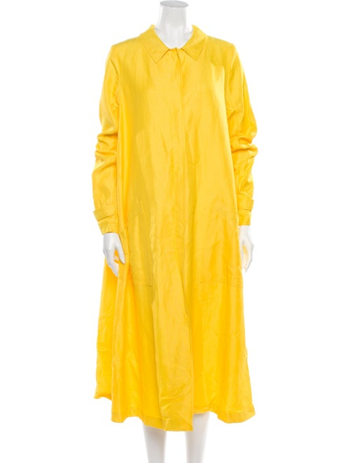 Mansur Gavriel Long Dress w/ Tags Yellow