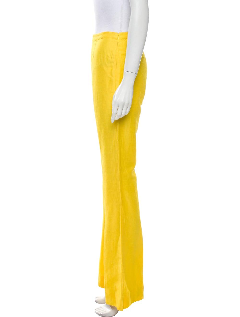 Mansur Gavriel Flared Pants Yellow - image 2