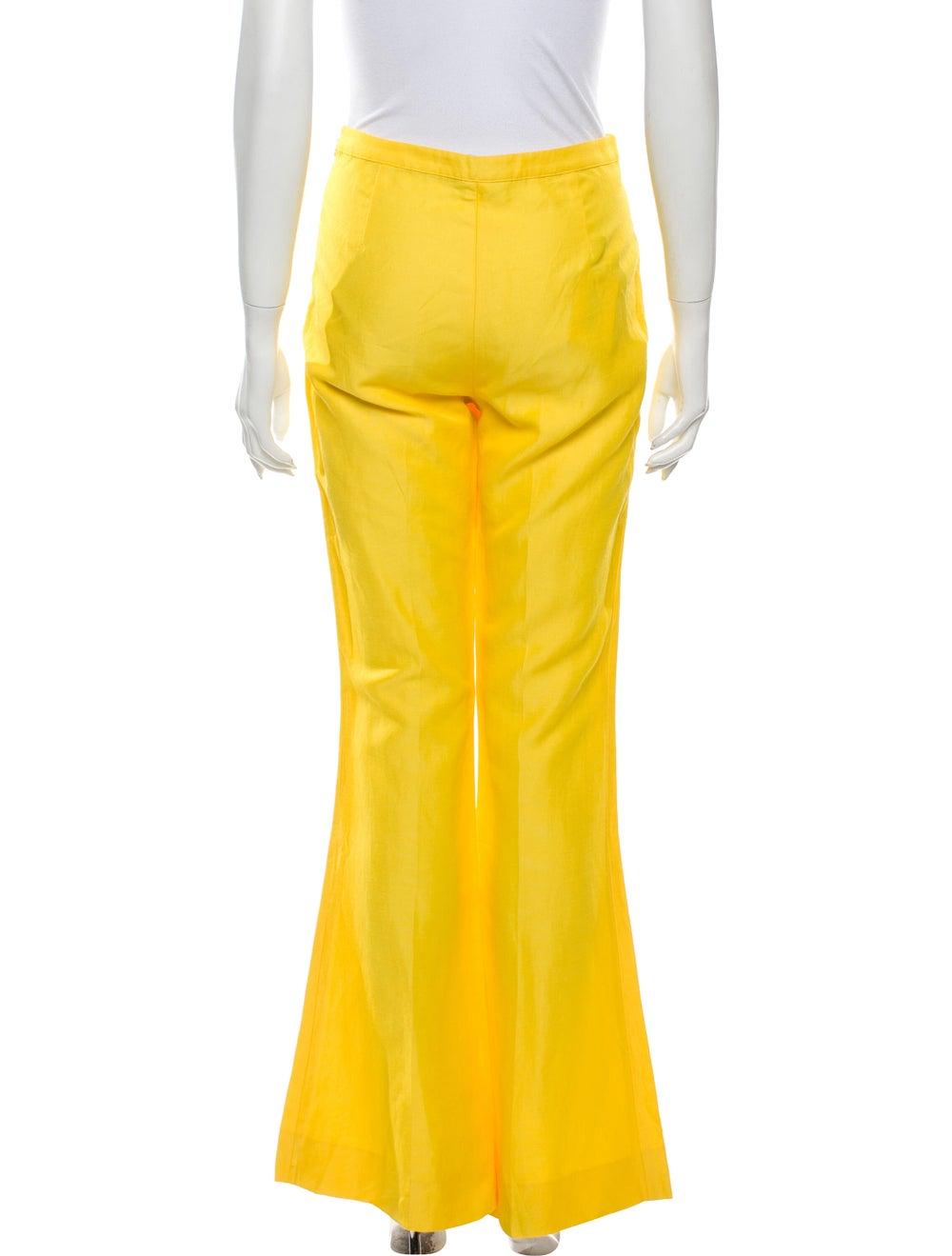Mansur Gavriel Flared Pants Yellow - image 3