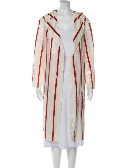 Mansur Gavriel Striped Coat