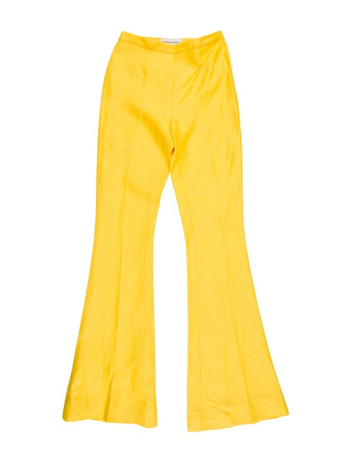 Mansur Gavriel 2019 Flared Pants w/ Tags Yellow