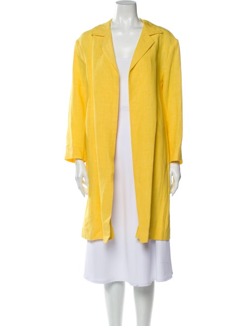 Mansur Gavriel Linen Coat Yellow