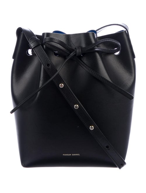 Mansur Gavriel Mini Bucket Bag Black