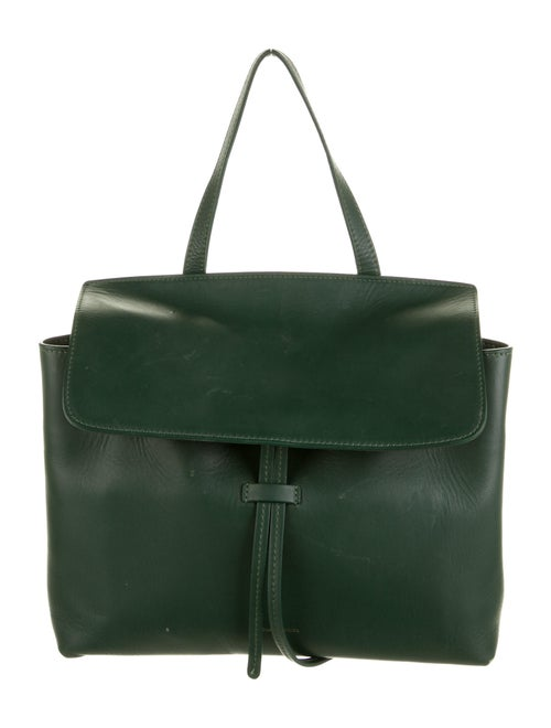 Mansur Gavriel Leather Lady Bag Green