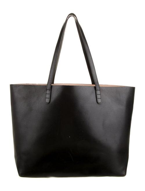 Mansur Gavriel Leather Tote Black