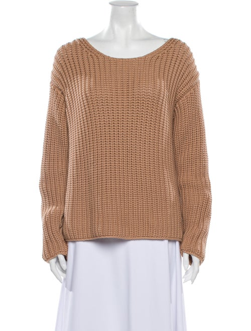 Mansur Gavriel Scoop Neck Sweater