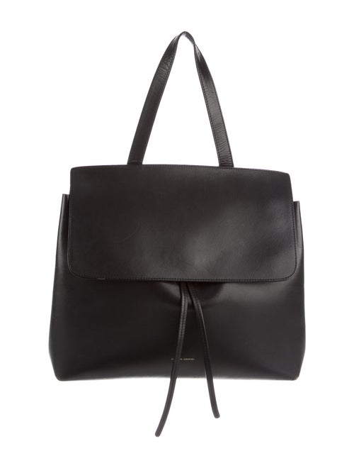 Mansur Gavriel Leather Lady Bag Black