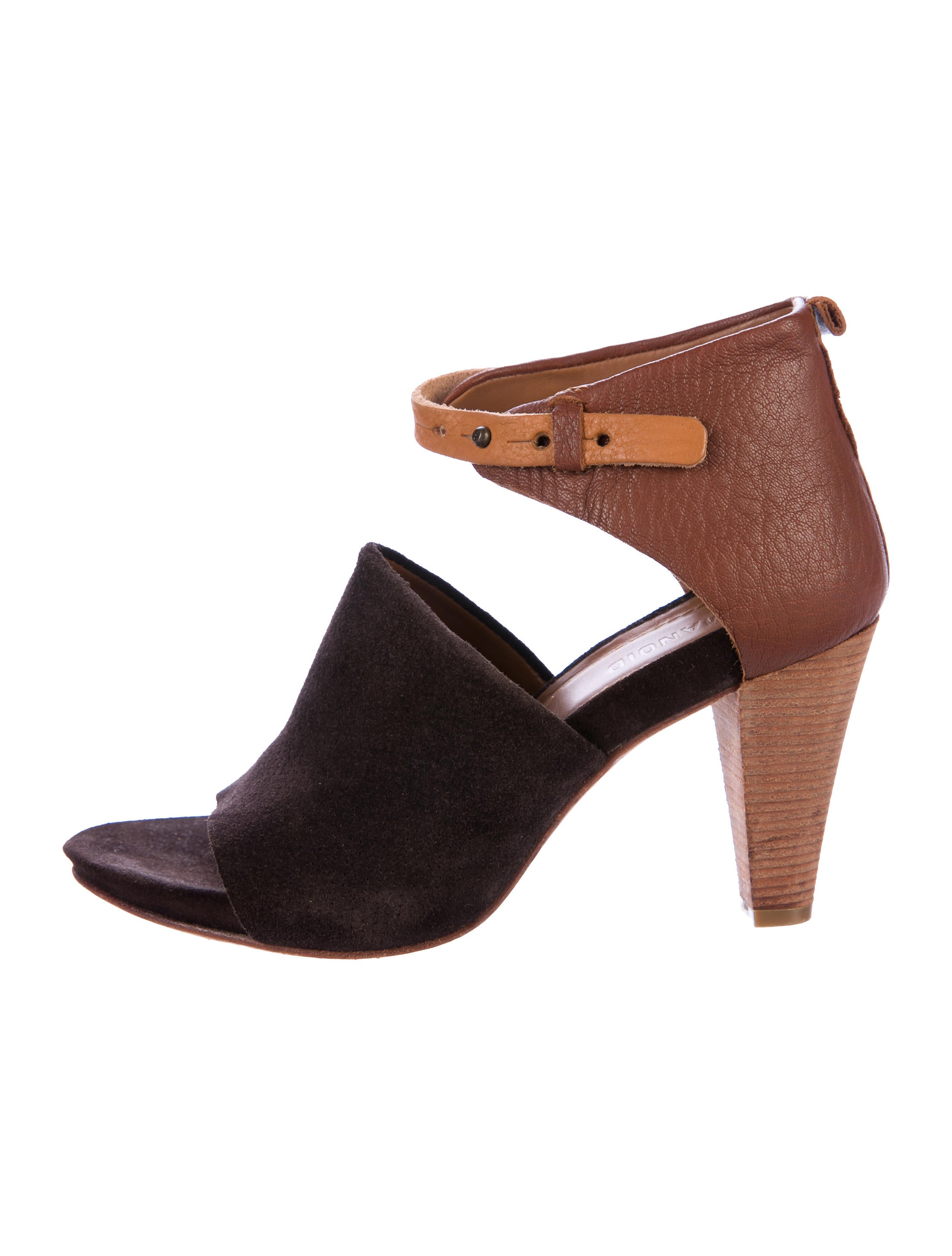 buy cheap discounts outlet really Humanoid Suede Peep-Toe Pumps 4JTYI9NX
