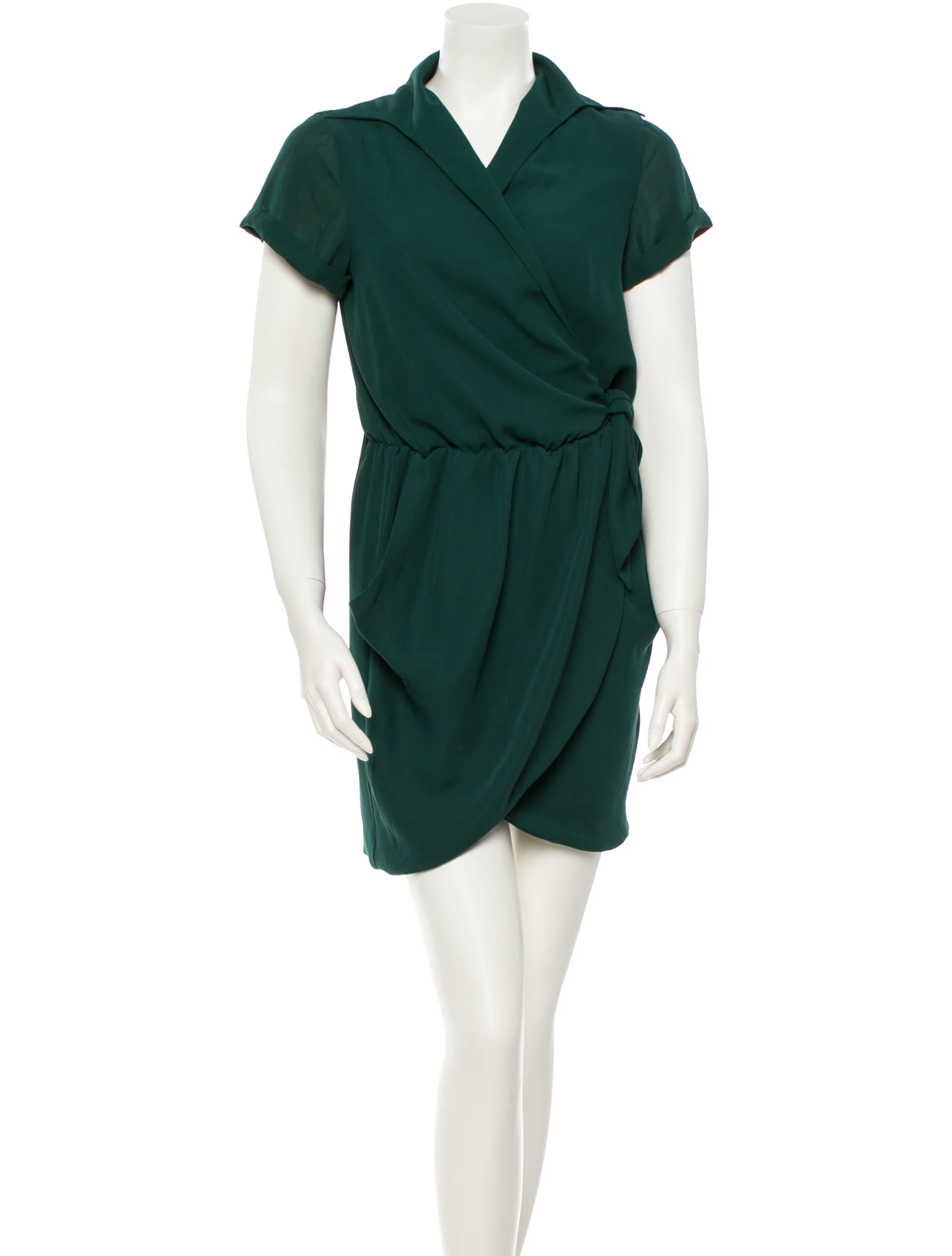 Halston heritage dress clothing wh121462 the realreal for Halston heritage shirt dress