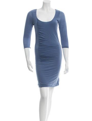 Halston Heritage Casual Knee-Length Dress None