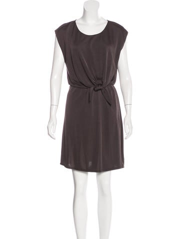 Halston Heritage Sleeveless Mini Dress None