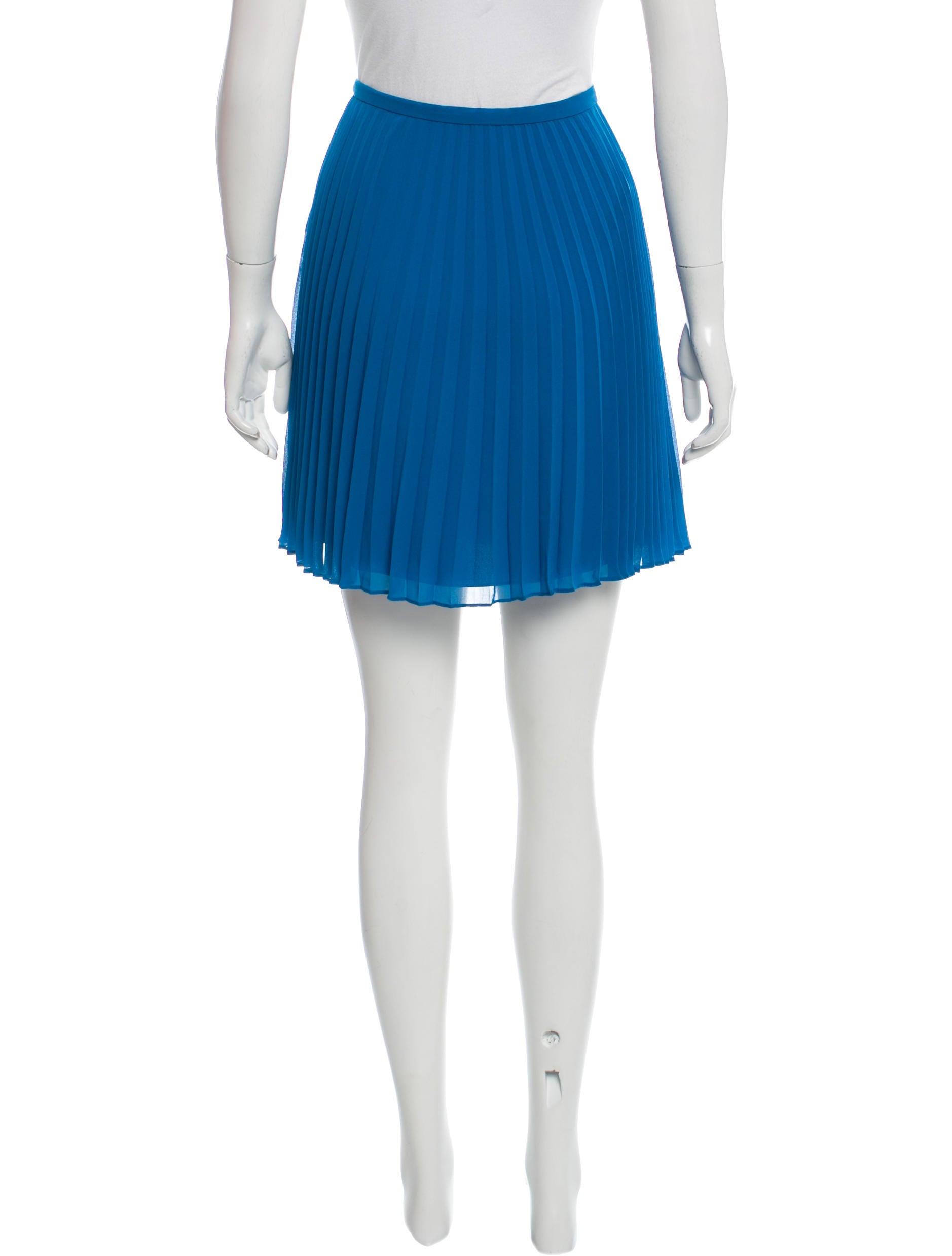 heritage pleated chiffon skirt clothing