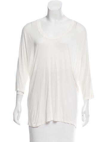 Halston Heritage Oversize Knit Top None
