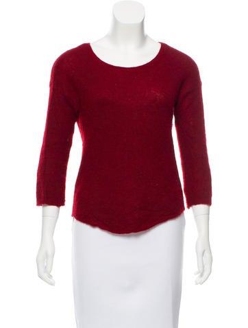 Halston Heritage Alpaca-Blend Sweater None