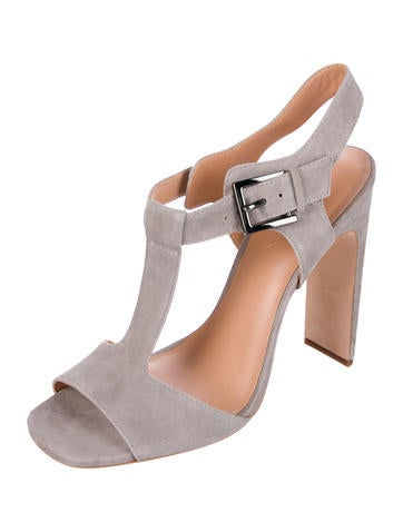 free shipping popular Halston Heritage Vera Suede Sandals w/ Tags sale exclusive rqnxSO6Xf