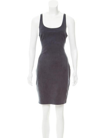 Halston Heritage Sleeveless Mini Dress None
