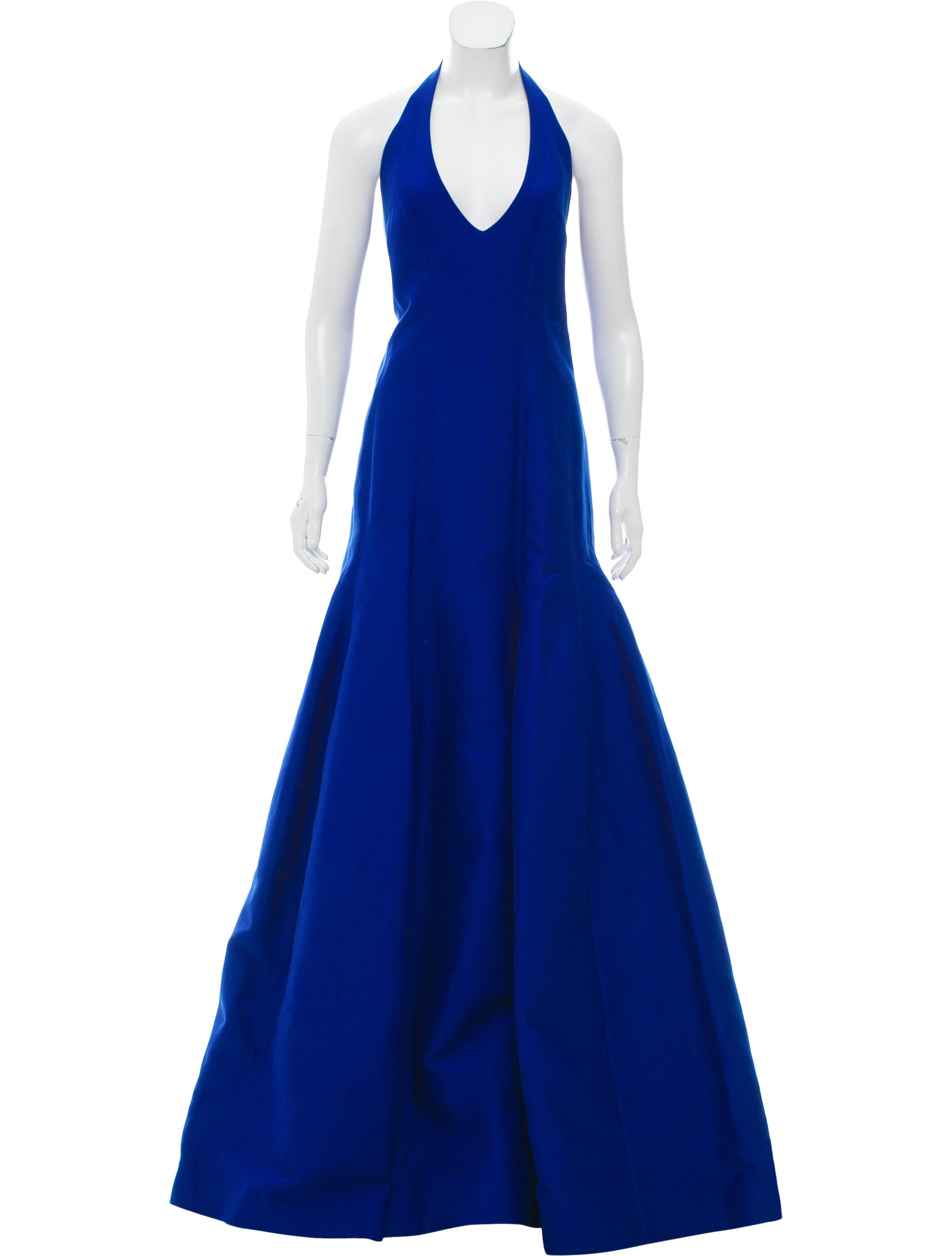 Halston Heritage Sleeveless Evening Dress w/ Tags - Clothing ...