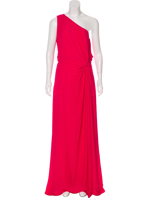 Halston Heritage One-Shoulder Evening Dress - Clothing - WH128718 ...