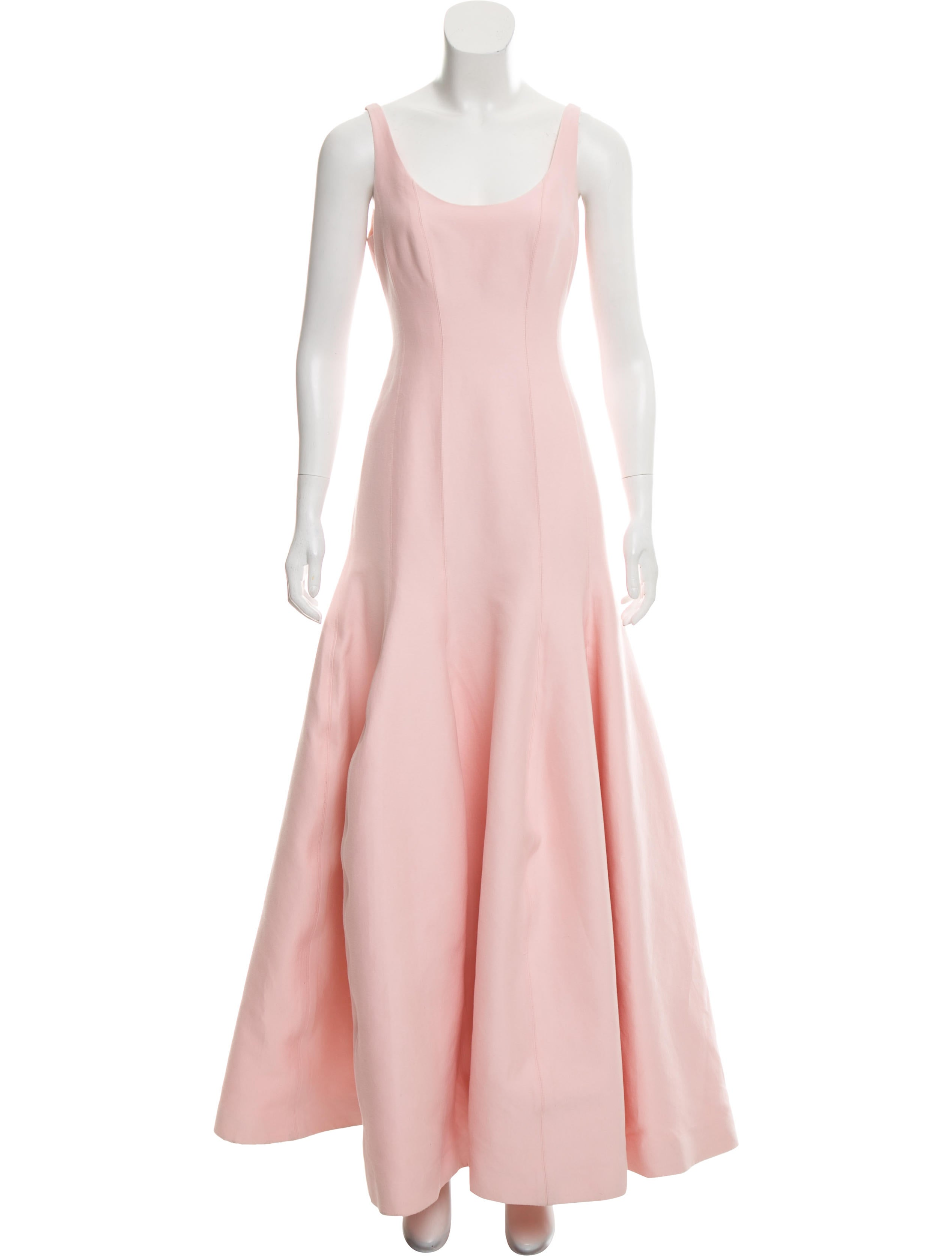 Halston Heritage Sleeveless Evening Gown - Clothing - WH129675 | The ...