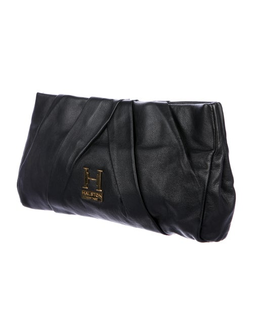 Halston Heritage Alice Leather Clutch - Handbags - WH131026  853915756fc2a