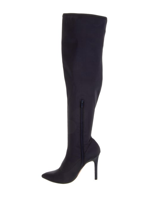 Halston Heritage Neoprene Over-The-Knee Boots