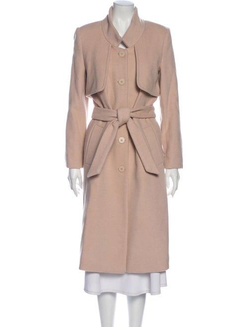 Halston Heritage Trench Coat Pink - image 1