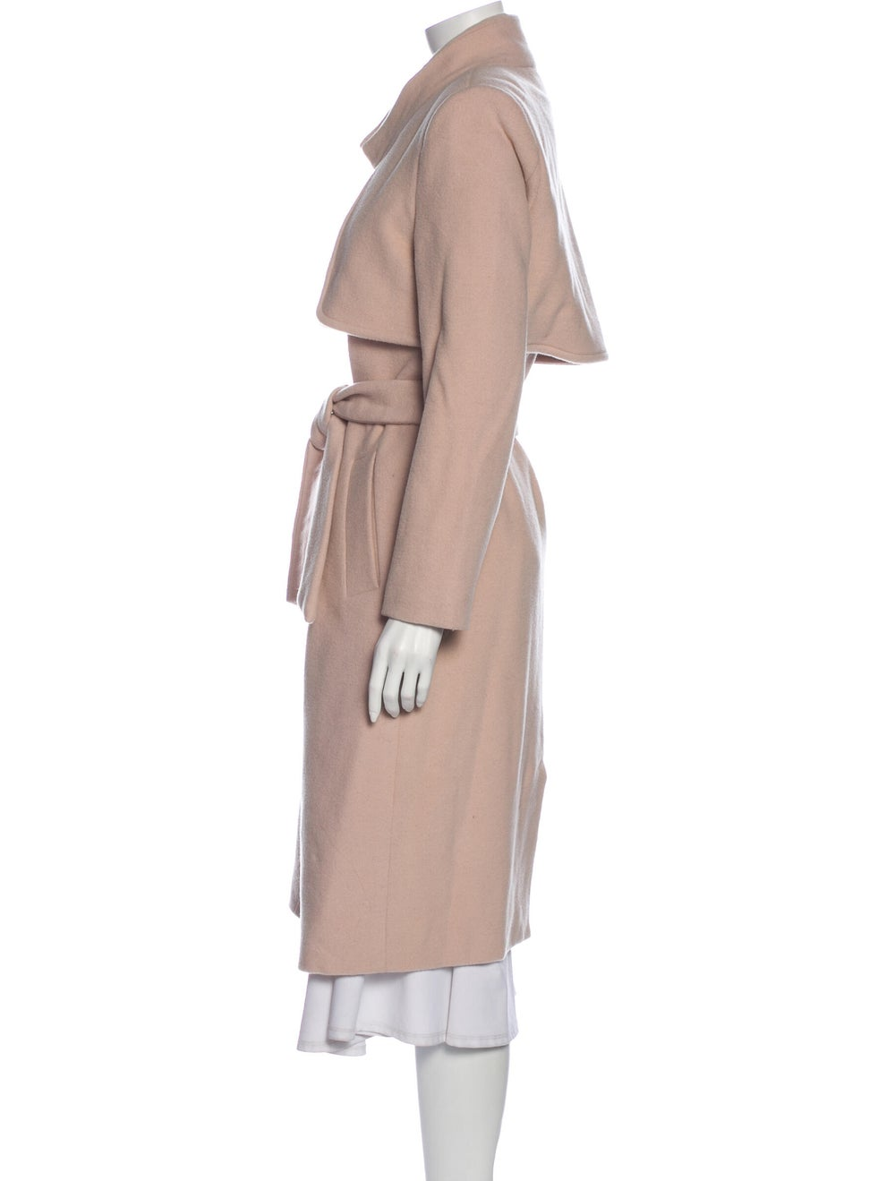 Halston Heritage Trench Coat Pink - image 2