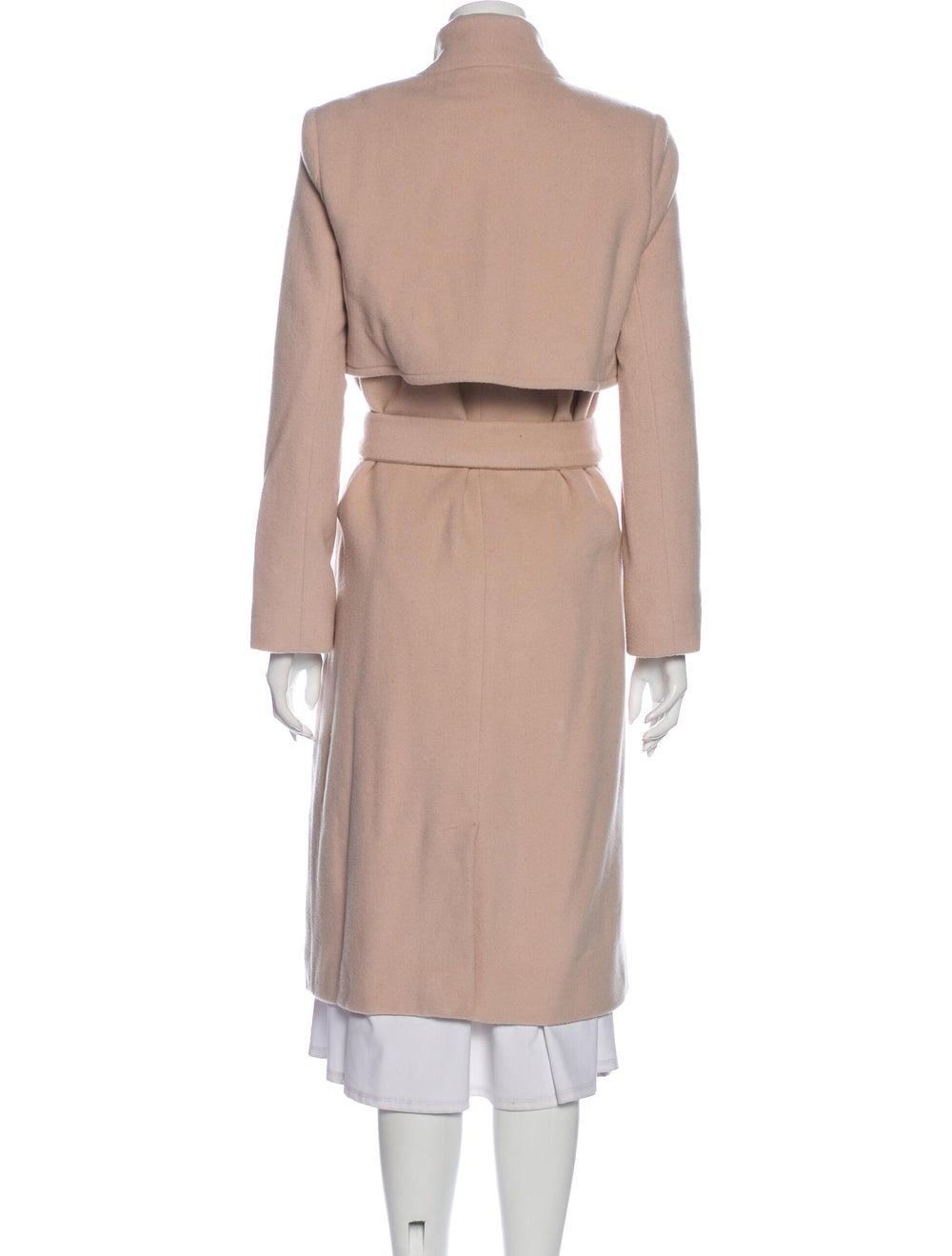 Halston Heritage Trench Coat Pink - image 3