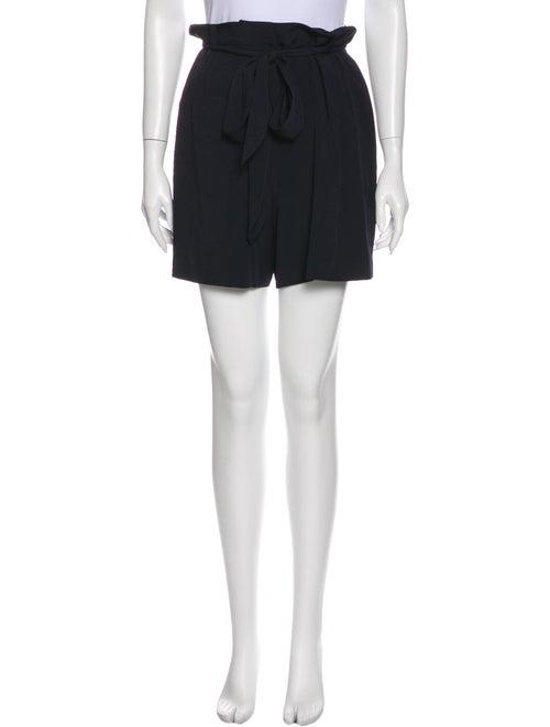 Halston Heritage Mini Shorts Blue