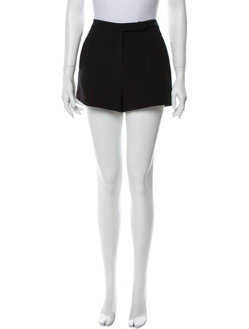 Halston Heritage Mini Shorts Black