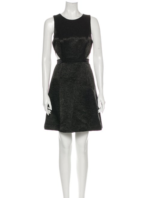 Halston Heritage Vintage Mini Dress Black