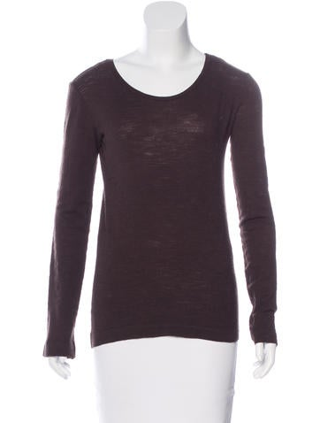 Hache Wool Long Sleeve Top None