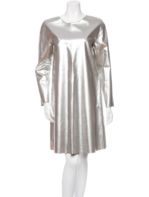 Hache Metallic Swing Dress w/ Tags metallic