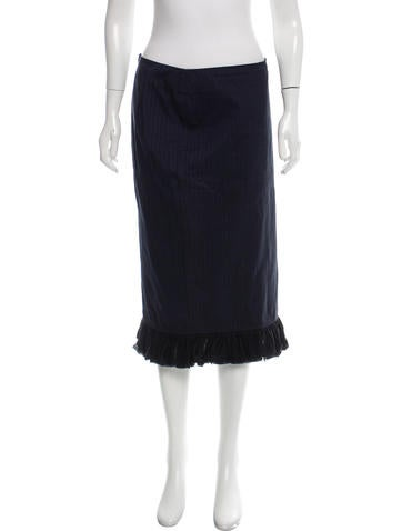 hache flared pencil skirt skirts wh421474 the realreal