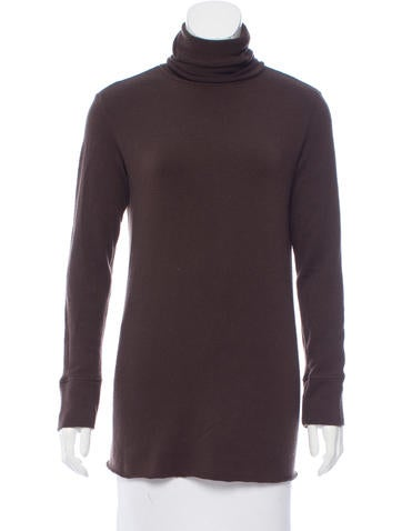 Hache Turtleneck Wool Top None