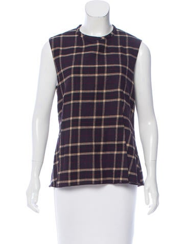 Hache Wool Printed Top None