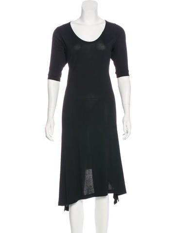 Hache Knit Midi Dress None