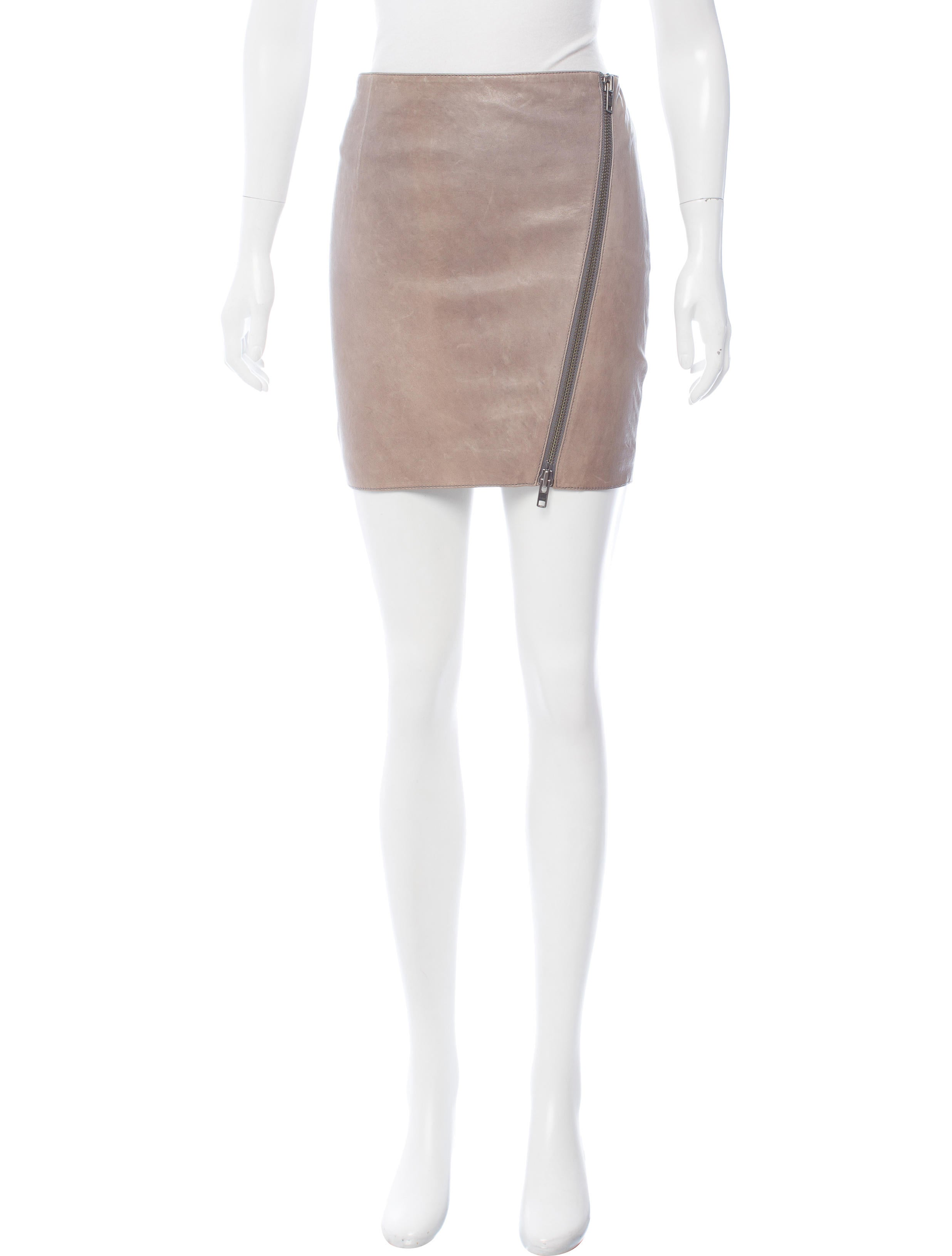 haute hippie leather mini skirt w tags clothing