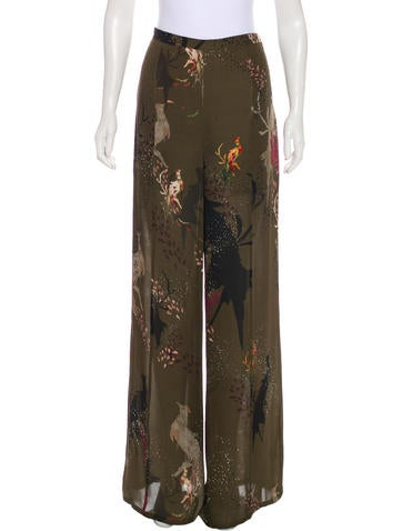For Sale Top Quality Outlet For Cheap Haute Hippie Mid-Rise Silk Pants w/ Tags Outlet Geniue Stockist Outlet Reliable 7TyNlySZEU