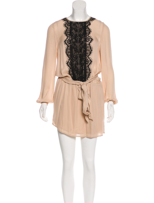 4731c4f9c93f Haute Hippie Silk Mini Dress - Clothing - WH629336 | The RealReal