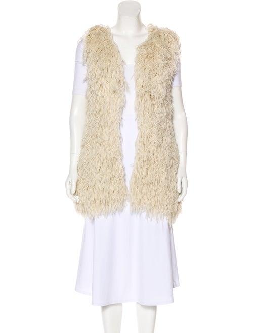 Haute Hippie Fringed Knit Vest