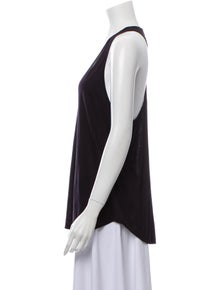 Haute Hippie V-Neck Sleeveless Top