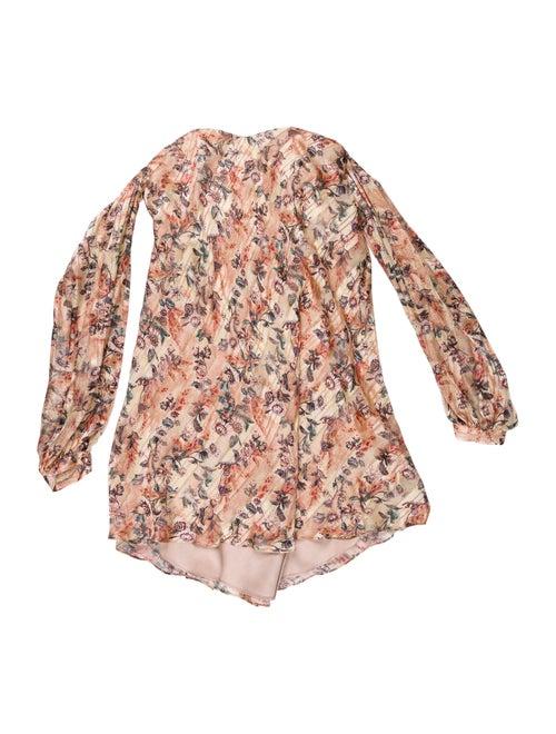 Haute Hippie Silk Floral Print Blouse w/ Tags Meta